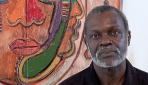 Formerly Homeless Man turned artist